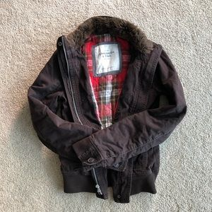 Abercrombie brown winter jacket